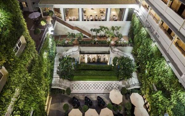 Thiết kế khách sạn xanh hòa quyện cùng thiên nhiên sinh động