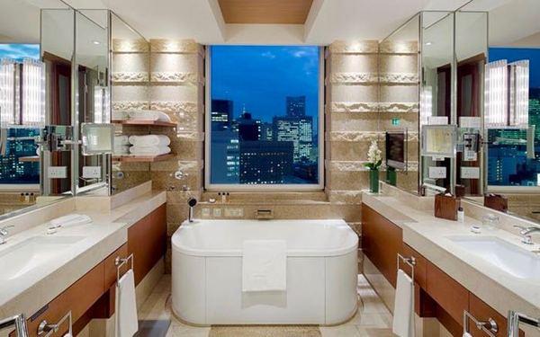 Phòng tắm sở hữu view đẹp cùng nội thất tiện nghi bậc nhất