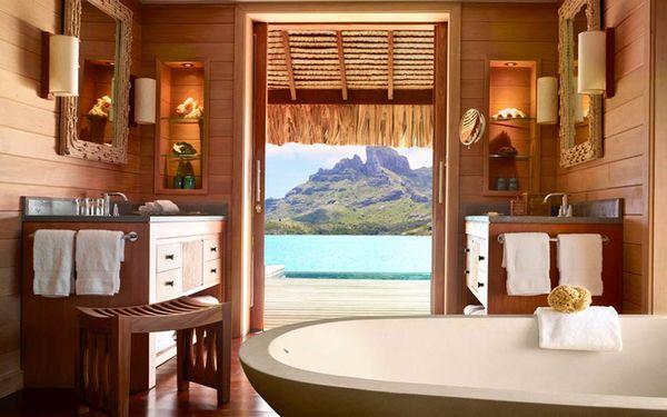 Thiết kế phòng tắm với chất liệu gỗ mang hơi thở hiện đại