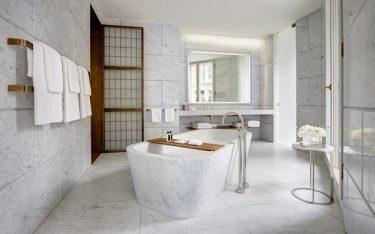 Bí quyết thiết kế phòng tắm khách sạn chuẩn không cần chỉnh