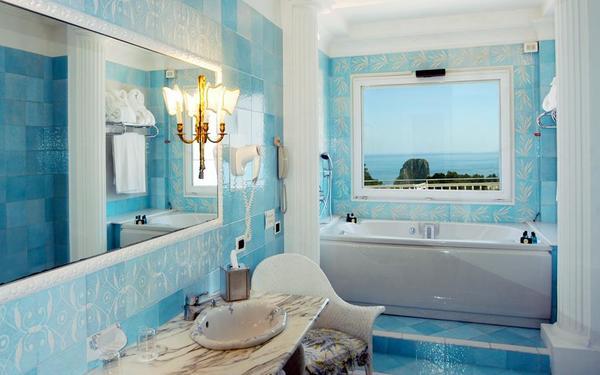 Kiến trúc phòng tắm mang vẻ đẹp tân cổ điển để lại ấn tượng đẹp mắt
