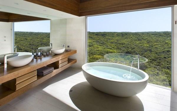 Không gian mở phòng tắm giúp khách hàng thư giãn một cách trọn vẹn