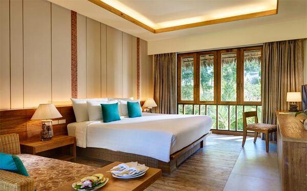 Chất liệu gỗ được sử dụng nhiều trong thiết kế resort bungalow