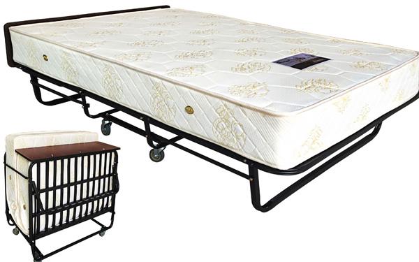 Giường phụ có khả năng gấp gọn và tiết kiệm diện tích không gian