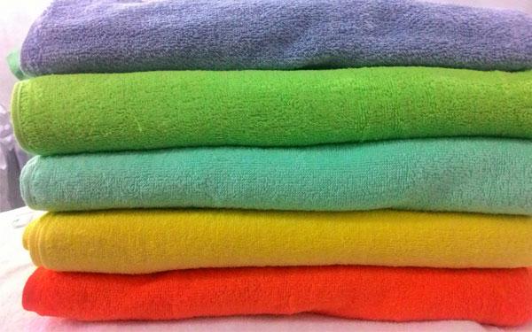 Khăn bông Tuấn Anh đa dạng về màu sắc và mẫu mã