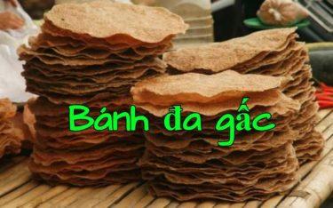 Bánh đa gấc Hải Dương đậm vị truyền thống, vấn vương nét quê