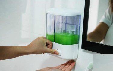 Bình nước rửa tay gắn tường: Thiết bị phòng tắm khách sạn tiện ích