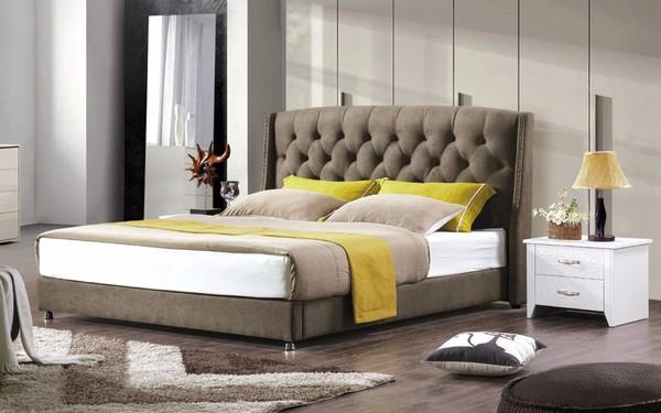 Giường đôi nhỏ sử dụng cho loại phòng Double bed room, Triple bed room và Family room