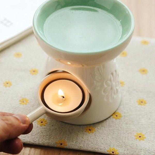 cách dùng đèn xông tinh dầu