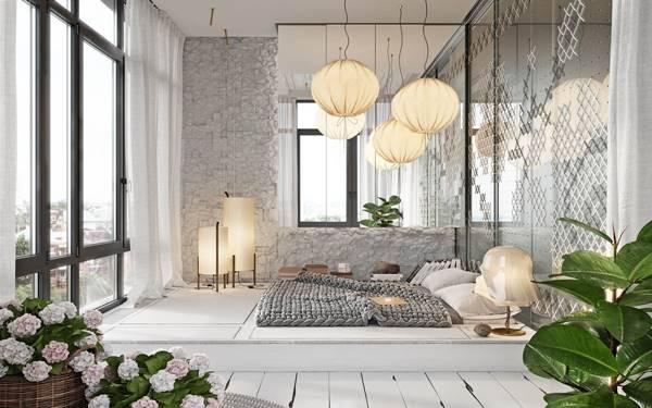 Kinh nghiệm chọn đèn ngủ phù hợp cho phòng khách sạn diện tích nhỏ