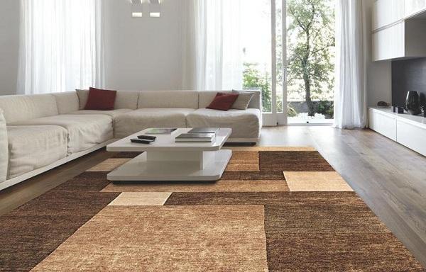 Thảm trải sàn rất đa dạng về mẫu mã và màu sắc