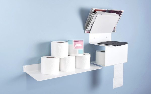 Kệ đựng giấy vệ sinh đa năng, thông minh