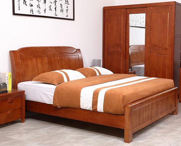 Chất liệu giường gỗ tự nhiên được sử dụng nhiều hiện nay