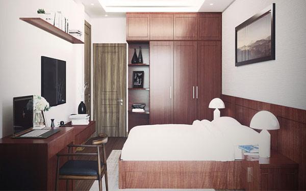 Tủ đựng quần áo là thiết bị cần thiết trong nhà nghỉ