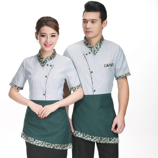 Tạp dề ngang hông ngắn dành cho nhân viên phục vụ hoặc phụ bếp