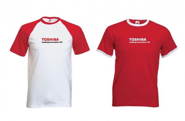 Mẫu thiết kế đồng phục cho công ty Toshiba