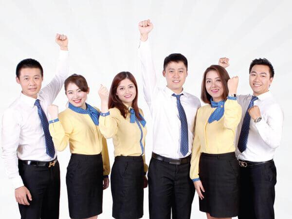 Đồng phục là sự quảng bá hình ảnh công ty rõ rệt và nhanh chóng nhất