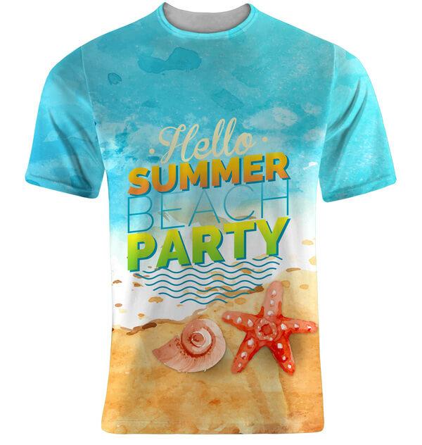 Mẫu áo phông đi biển được thiết kế độc đáo