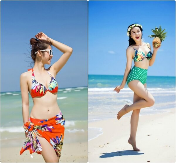 Bikini đi biển cho nàng thêm nóng bỏng, quyến rũ