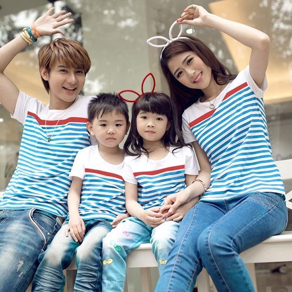 Trang phục gia đình là cầu nối vững chắc giữa các thành viên trong gia đình