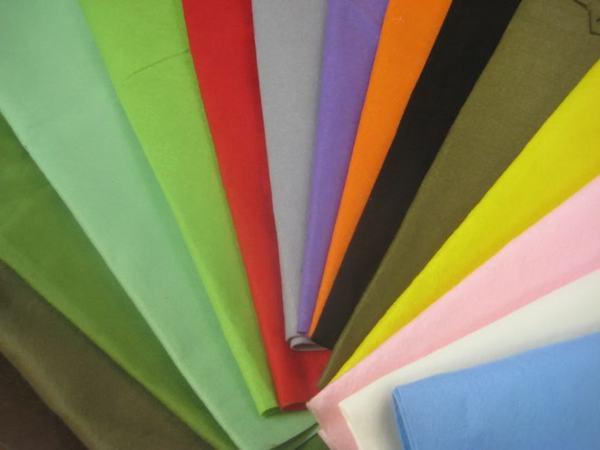Vải cotton luôn là lựa chọn hàng đầu khi may đồng phục