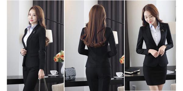 Mẫu vest dành cho nữ của quản lý nhà hàng khách sạn