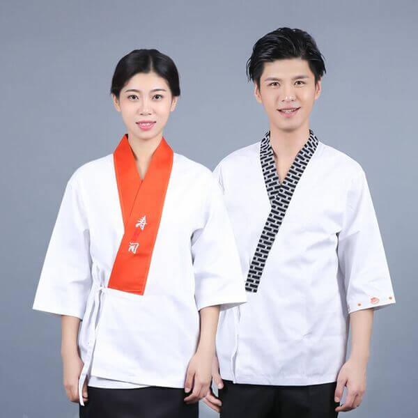 Đồng phục của nhân viên trong nhà hàng Nhật