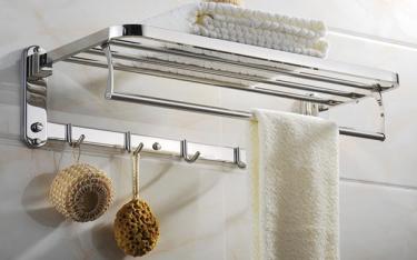 Giá treo khăn – thiết bị không thể thiếu trong phòng tắm khách sạn