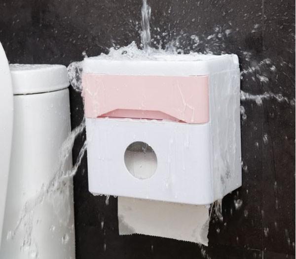 Với thiết kế sang trọng, hộp đựng giấy bằng nhựa mang đến cảm giác sạch sẽ, lịch lãm hơn