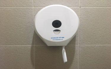 Vì sao nhà hàng, khách sạn nên dùng hộp đựng giấy vệ sinh cuộn lớn?