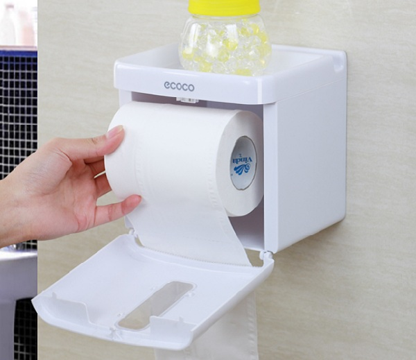 Hộp đựng giấy vệ sinh Ecoco rất đa dạng với hàng loạt các tính năng tiện lợi