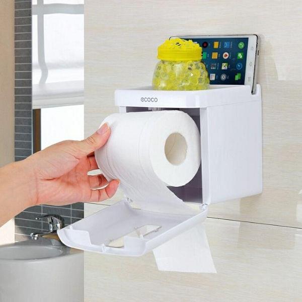 Hộp đựng giấy vệ sinh bằng nhựa đa số đều được làm từ nhựa ABS cao cấp