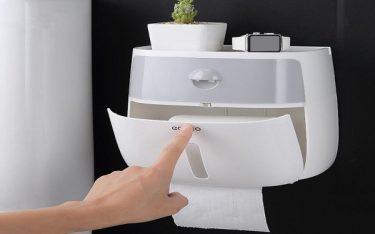 4 ưu điểm hộp đựng giấy vệ sinh đa năng được các khách sạn tin dùng