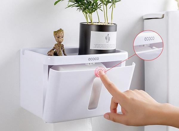 Thiết kế thông minh cùng sự tiện lợi trong quá trình sử dụng là ưu điểm của loại hộp giấy này