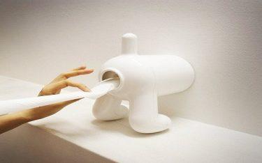 Tổng hợp những thiết kế hộp đựng giấy vệ sinh thông minh, độc, lạ