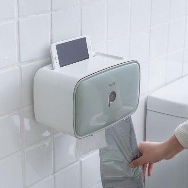 Những chiếc hộp này sẽ giữ giấy vệ sinh luôn khô ráo và sạch sẽ trong môi trường ẩm ướt của nhà vệ sinh