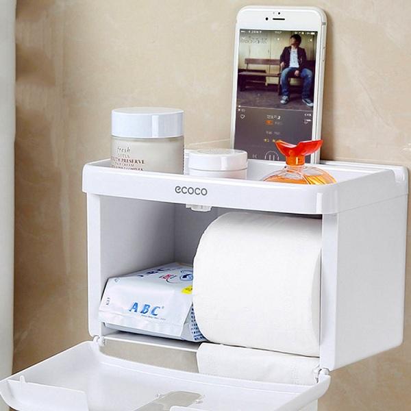 Nhiều loại hộp đựng giấy vệ sinh toilet còn được thiết kế để chứa được nhiều đồ dùng cá nhân