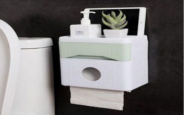 Hộp đựng giấy vệ sinh toilet: Đồ dùng thiết yếu trong phòng tắm khách sạn