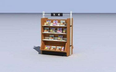 Nên chọn mua kệ để sách báo bằng gỗ hay kệ để báo inox?