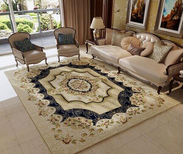 Loại thảm cỡ lớn, đại và cực đại thích hợp để sử dụng trong phòng khách