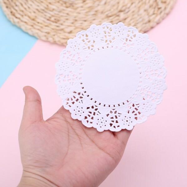 Lót ly bằng giấy dễ tạo kiểu xinh xắn
