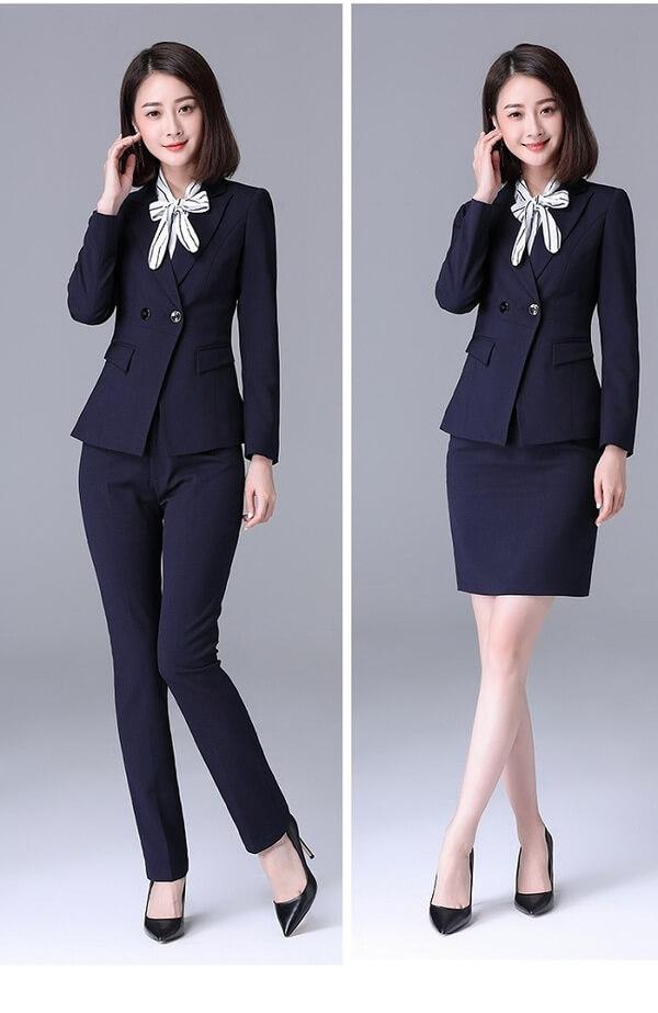 Một số loại áo sơ mi và áo vest đồng phục công ty