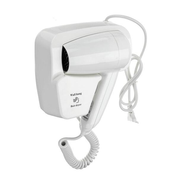 Nhiều khách sạn lựa chọn máy sấy tóc gắn tường mini để tiết kiệm chi phí