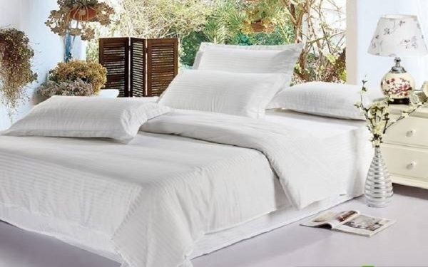 Chất liệu vải cotton luôn là sự lựa chọn hàng đầu trong phòng ngủ khách sạn
