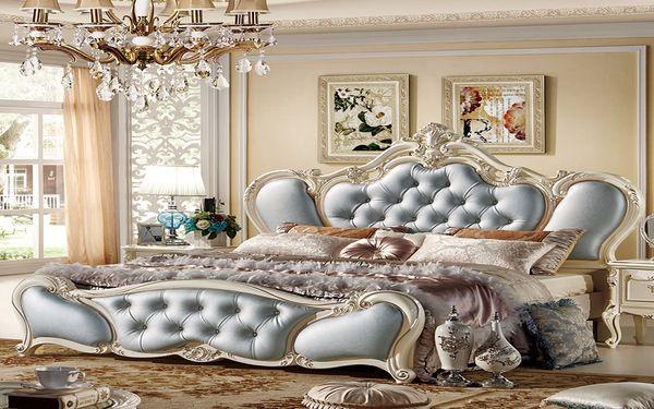 Thiết kế giường với những đường nét cầu kỳ, đẹp quyến rũ