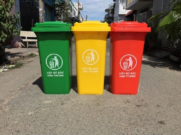 Các tiêu chí cần để ý khi chọn mua thùng rác ngoài trời