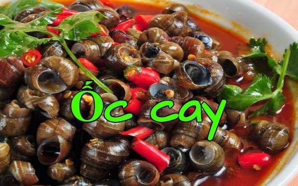 Ốc cay Hải Phòng: Món ngon hút khách ngày se lạnh
