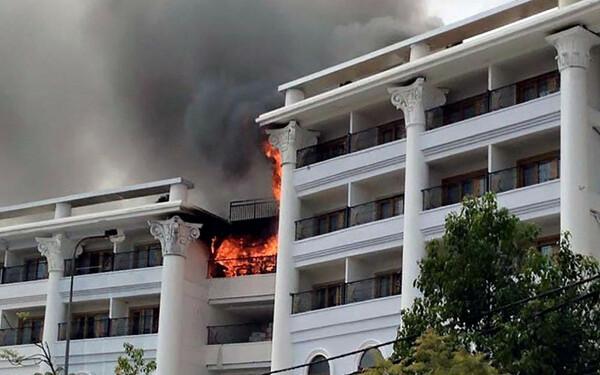 Cháy khách sạn tại Đà Lạt làm thiệt hại đến tài sản và tính mạng nhiều người