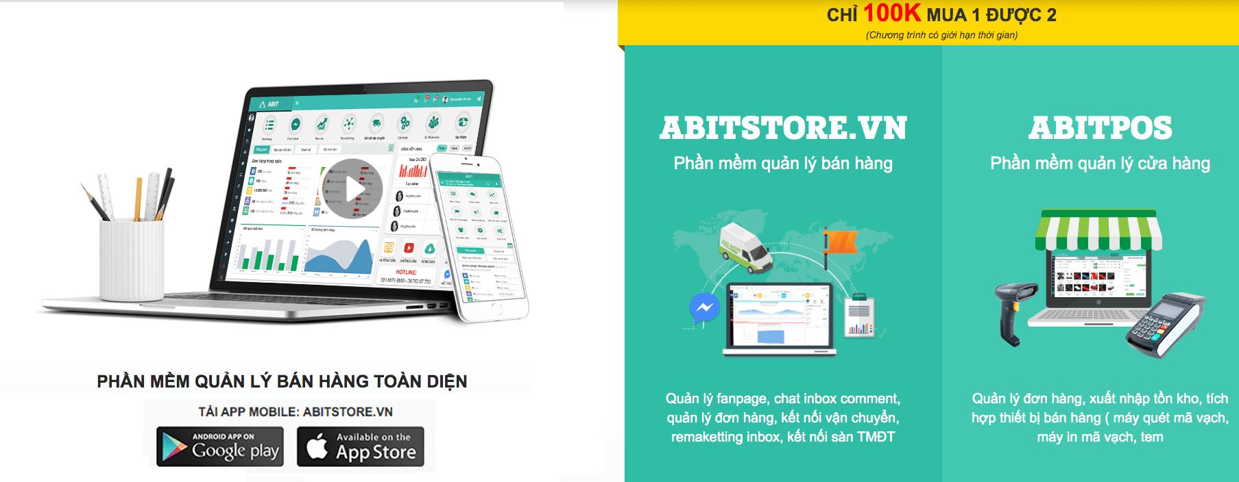 Phần mềm quản lý bán hàng online tốt nhất