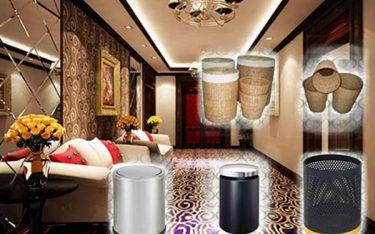 Poliva – đơn vị phân phối thùng rác trong phòng khách sạn cao cấp